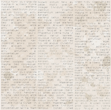 Abstract old newspaper seamless vintage background. Stock Vector - 17641689