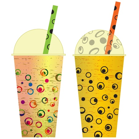 ice tea: Various cocktail, clip art