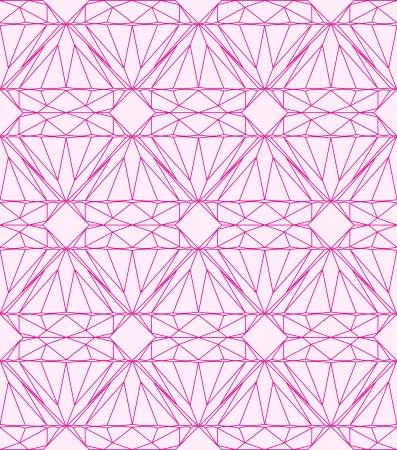 Pink diamond, seamless background