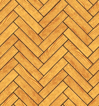 Parkiet z drewna grunge tekstury tła bez szwu Ilustracje wektorowe