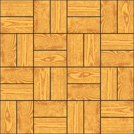 Grunge wood parquet texture, seamless background Stock Vector - 21727004