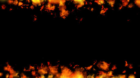 fire flame blaze effect background