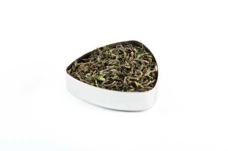 has been: Darjeeling first flush, tea that has been harvested at a specific time, immediately following spring rains