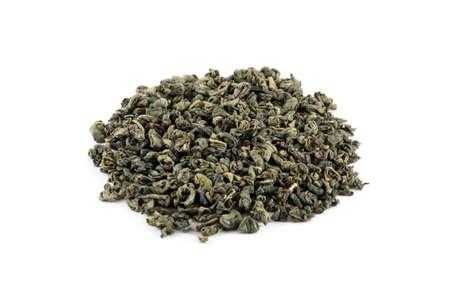 gunpowder tea: Green menthos, chinese gunpowder green tea mixed with mint
