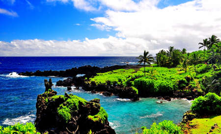 hues: Beautiful Maui Coastline