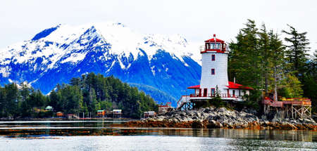Sitka Alaska Stock Photo