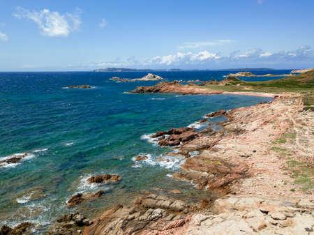 Impressive view over La Maddalena, Sardinia, Italy. Stock Photo