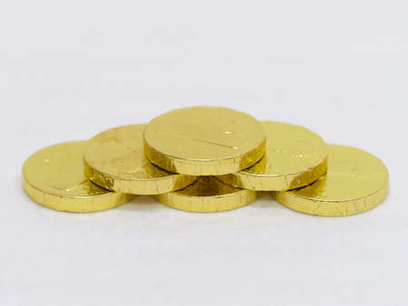 splurge: Chocolate in the form of gold coins
