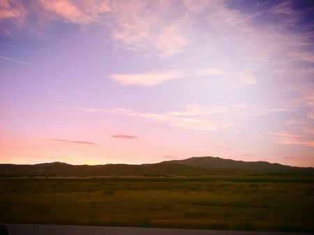 wide open spaces: Nevada horizon wide open spaces. Summer sunset.