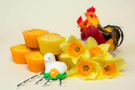 pasen schaap: Easter decoration.