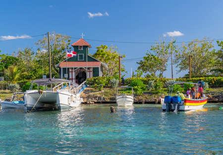 Harbor on Dominikan Republic.