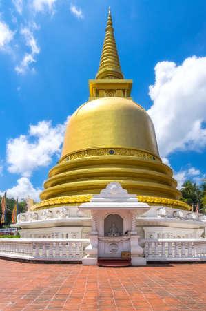 Golden Temple Of Dambulla, Sri Lanka, Buddhist Dagoba (Stupa)
