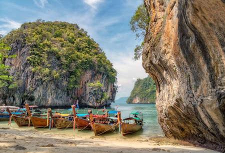 Hong Island, a paradise island in Thailand.