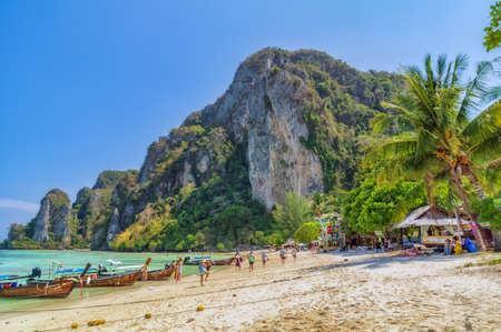 Beautiful Thailand. One of the paradise islands in the province of Krabi in Thailand.
