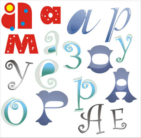 letters Stock Vector - 10389375