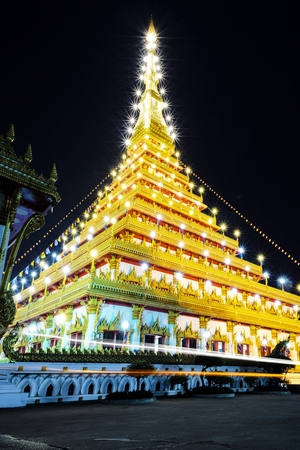 khon: Phra Mahathat Kaen Nakhon Temple, Khon Kaen Thailand