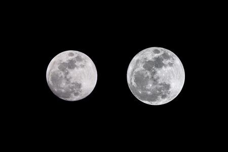 apogee: SuperMoon vs. Full Moon Comparison