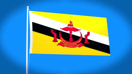 philippino: the national flag of Brunei