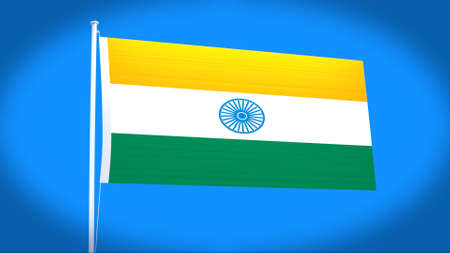 philippino: the national flag of India