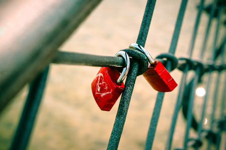 A Pair of Red Lock