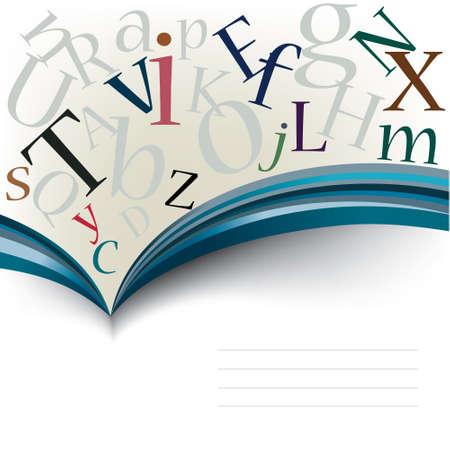 artikelen: Vector abstracte boeken reeks