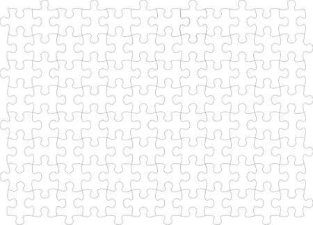 Endless vector puzzle � delete the gray gradient and place your image