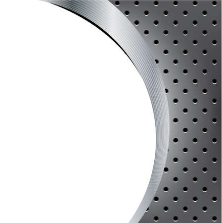 Futuristic metal background template series