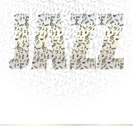 Jazz vector background series