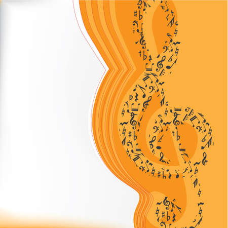 Musical vector background series Stock Vector - 5370692