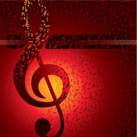 musica clasica: Serie de vectores de música de fondo Vectores