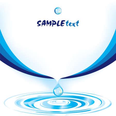 Vector water drop design template series Stock Vector - 5370697