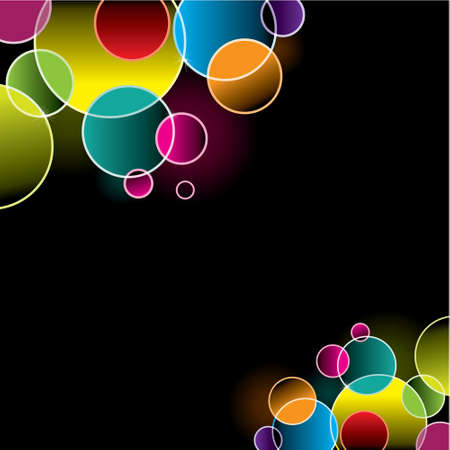 Lights – background design template Vector