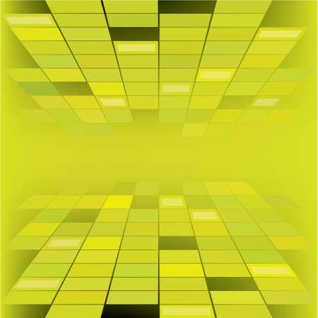 Green futuristic background design Stock Vector - 5415120