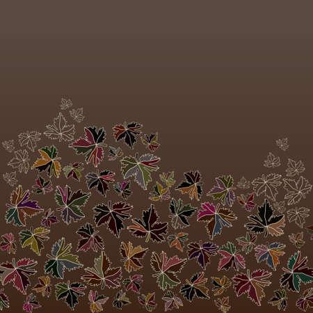 Autumn background series
