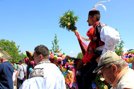 Folklore Festival Ride of Kings Vl?nov in South Moravia, Czech Republic 25th May 2016