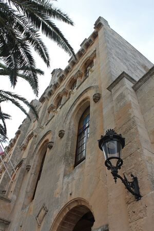 menorca: Old historic building in Menorca