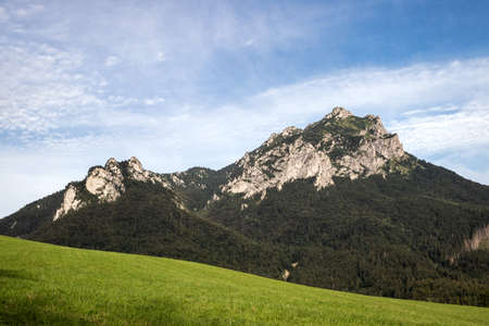 Rocky mountain peak know as Velky Rozsutec in natural parkland Mala Fatra, Slovakia Stock fotó