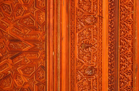 Wooden Islamic decoration photo