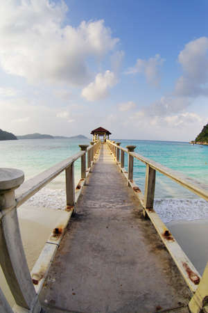 perhentian: Perhentian Island, Malaysia Stock Photo