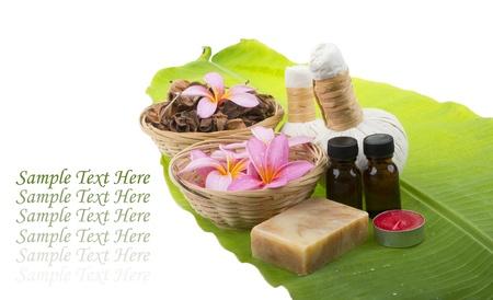 Tropical spa concept