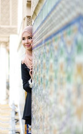 pretty muslimah photo