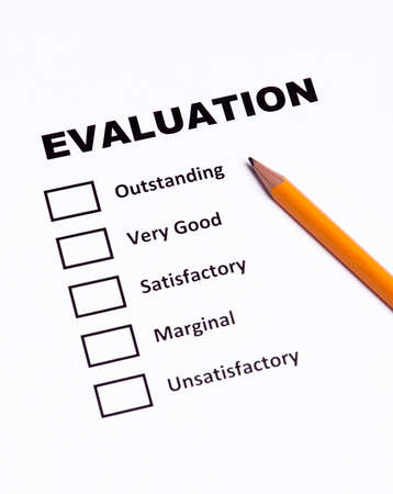Checklist performance evaluation