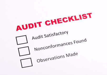 satisfactory: Audit checklist evaluation