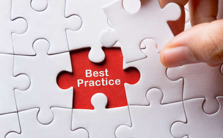 at best: Puzzle with word best practice