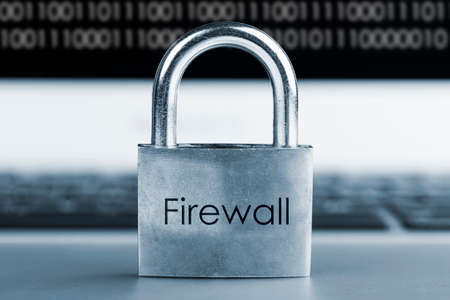 computer security concept- Firewall Pretection