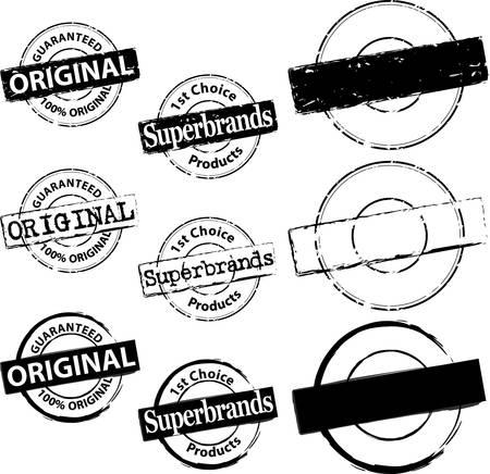 Rubber Stamp Original en Superbrand