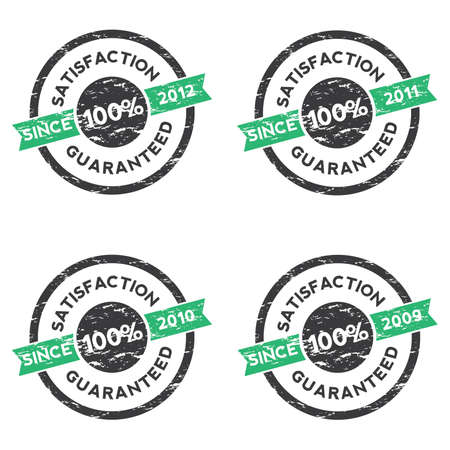 Rubber Stamp (Satisfaction Guaranteed) 03 Vector