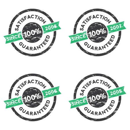 Rubber Stamp (Satisfaction Guaranteed) 02 Vector