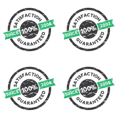 satisfaction guaranteed: Rubber Stamp (Satisfaction Guaranteed) 02 Illustration