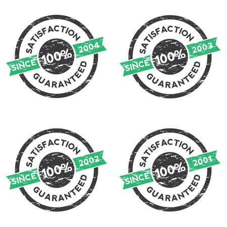 Rubber Stamp (Satisfaction Guaranteed) 01 Vector